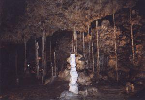 Nacieki w Jaskini Katerinskiej na Morawach w Czechach