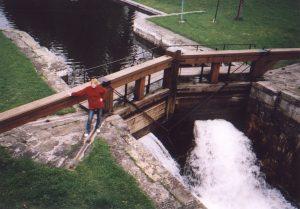 Śluza Mikaszówka na Kanale Augustowskim