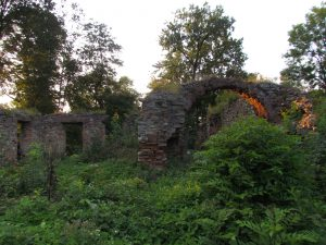 Ruiny zamku w Fałkowie