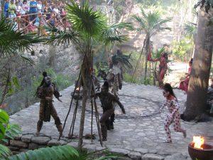Wioska Majów w Xcaret