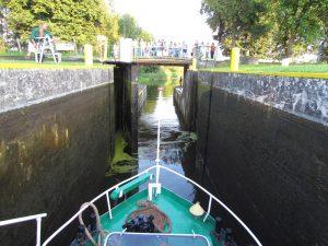 Śluza Miłomłyn na Kanale Elbląsko-Ostródzkim