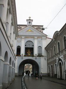 Ostra Brama w Wilnie na Litwie
