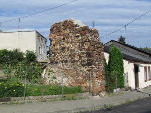 Pozostałości zamku w Przedborzu
