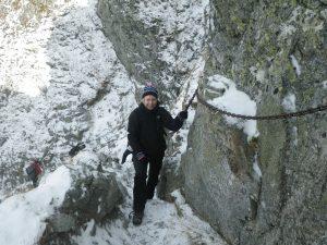 W drodze na Szpiglasową Przełęcz