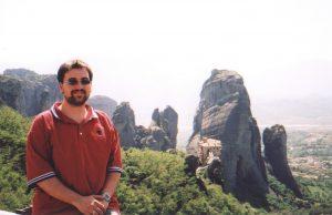 Monastyr Roussanou, czyli jeden Meteorów w Grecji