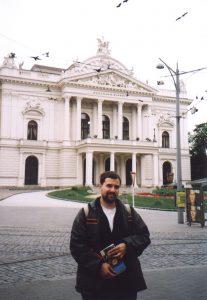 Teatr w Brnie w Czechach