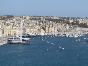 Vittoriosa widziana z Valletty