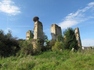 Ruiny zamku w Majkowicach
