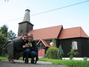 Kościół drewniany w Gwieździnie