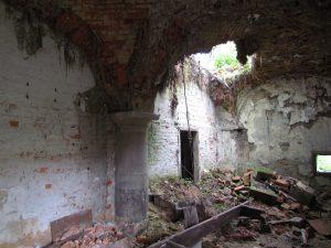 Ruiny zamku w Strumieniu