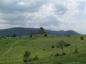 Klasztor Jivari ponad miejscowością Mtskheta