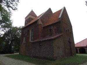 Kościół romański w miejscowości Rokicie