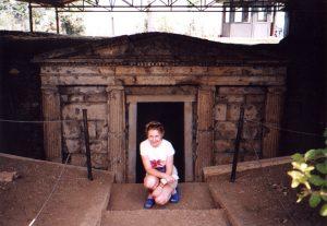 Grobowiec macedoński w Werginie w Grecji