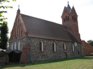 Kościół romański w Ogardach