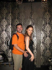 Z Jennifer Lopez u Madame Tussaud's
