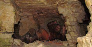 Trasa podziemna w Rezerwacie Archeologicznym Krzemionki Opatowskie