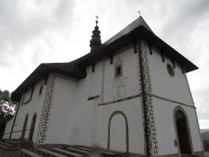 Kościół romański w miejscowości Tropie