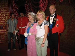 Z Rodziną Królewską u Madame Tussaud's