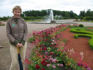 Ogrody Pałacu Rundāle na Łotwie
