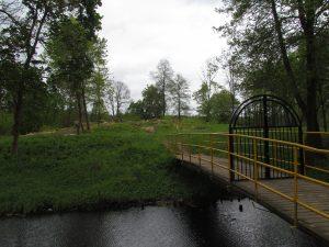 Pozostałości zamku w Mirosławcu