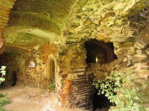 Ruiny zamku w Ciepłowodach
