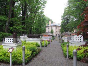 Park miniatur na terenie Zamku w Żywcu