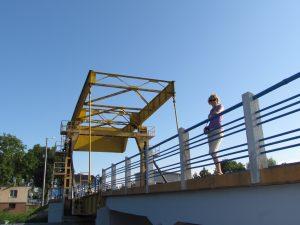 Most zwodzony w Rybinie