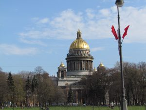 Sobór Isaakijewskij w Petersburgu