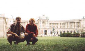 Zamek Hofburg w Wiedniu w Austrii