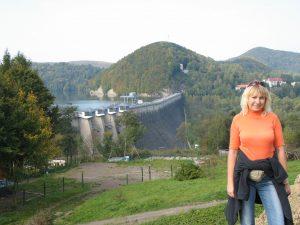 Elektrowni na Zaporze solińskiej