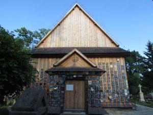 Kościół modrzewiowy Św. Anny w Zaklikowie