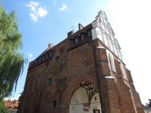 Gotycki ratusz w Pasłęku
