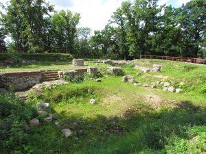 Pozostałości zamku w Dzierzgoniu
