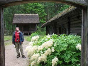 Skansen w Rydze na Łotwie