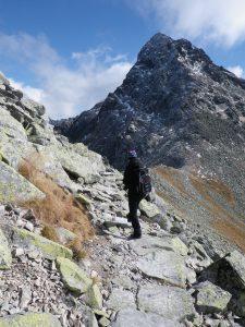 W drodze na Świnicką Przełęcz