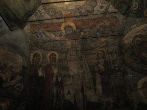 Polichromie w cerkwi w Powroźniku