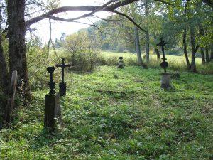 Cmentarz w miejscowości Tworylne