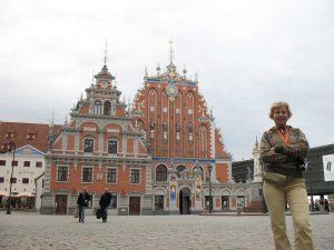 Budynki Bractwa Czarnogłowych w Rydze na Łotwie