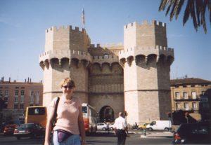 Brama Torres Serranos w Walencji