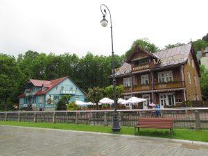 Park Zdrojowy w Krynicy Zdrój