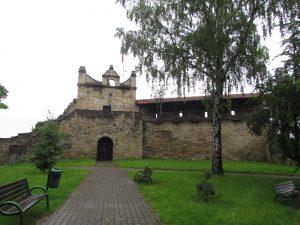 Ruiny zamku w Nowym Sączu