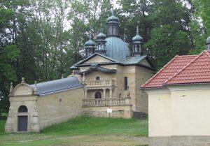 Kalwaria Zebrzydowska - Święte schody i Ratusz Piłata