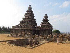 Mahabalipuram - Świątynia nadbrzeżna