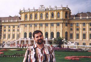 Pałac Schönbrunn w Wiedniu w Austrii