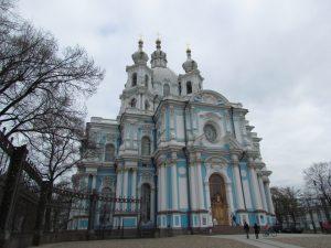 Sobór Smolny w Petersburgu