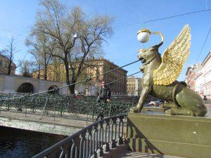 Most Bankowy w Petersburgu