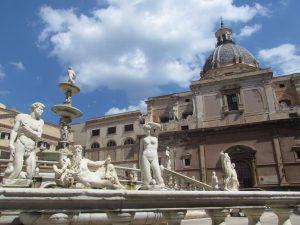 Piazza Pretoria w Palermo