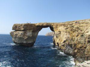 Azure Window - łuk skalny na Gozo