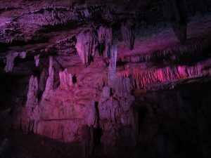 Jaskinia stalaktytowa w Rezerwacie Sataplia