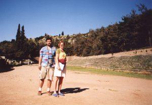 Stadion w Delfach w Grecji